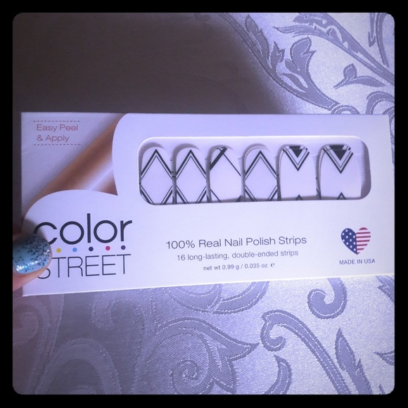 Crossroads Color Street Retired Art Deco Nails Nwt